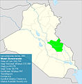 Iraqi parliamentary election, 2010 result-Wasit.jpg