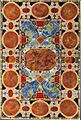 Italian pietre dure and pietre tenere white marble inlaid table top, Florence.jpg