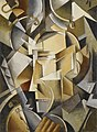 Ivan Vasilievich Kliun - The Clockmaker (Der Uhrmacher- L'horloger) - 2007.85 - Minneapolis Institute of Arts.jpg