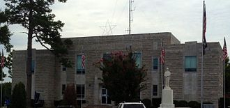 Izard County, Arkansas - Image: Izard County Courthouse 2