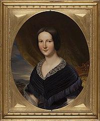 Adolphine Wilhelmina Anna van der Wijck (1819-1849). Echtgenote van Leopold, Graaf van Limburg Stirum