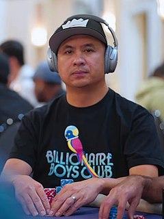 J. C. Tran Vietnamese-American poker player