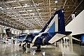 JASDF T-2(19-5173) left rear view at in the Kakamigahara Aerospace Science Museum November 7, 2020 02.jpg