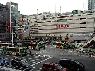Kinshichō Station - Image: JR Sobu Line Kinshicho 001