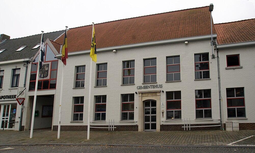 Jabbeke (Belgium): Town Hall