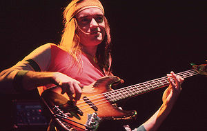 English: Jaco Pastorius, Amsterdam, 1980