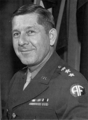 Jacob L. Devers - Devers as Commanding General, NATOUSA, in 1944