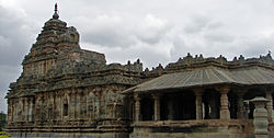 Jain temple at Lakkundi in Gadag District