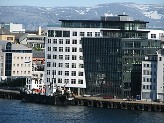 Bodø Radio - The offices in downtown Bodø