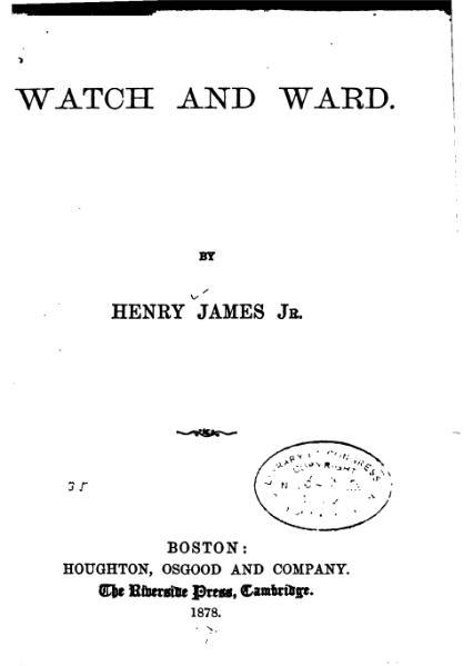 File:James - Watch and Ward.djvu