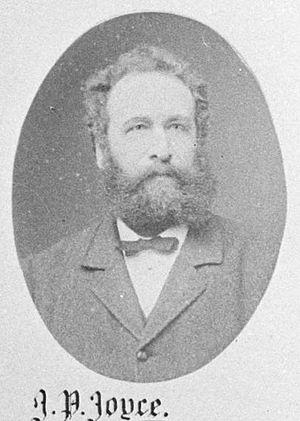 James Parker Joyce - James Parker Joyce in 1882