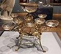 James wyatt per matthew bouton e john fothergill, centrotavola (épergne), argento e vetro, inghilterra 1774-76.jpg