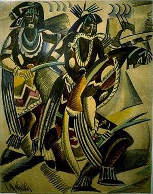 Jan Matulka - Image: Jan Matulka Hopi Snake Dance 2