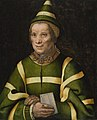 Jan Sanders van Hemessen (Attr) - Portrait of Elisabet, Court fool of Anne of Hungary.jpg