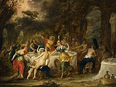 Jan van Balen (attr.) - The Marriage Feast of Peleus and Thetis.jpg