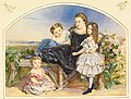 Jane Sophie Egerton Portrait of four children 1857.jpg