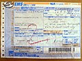 Japan Post EMS label for goods EJ145082855JP 20140606.jpg