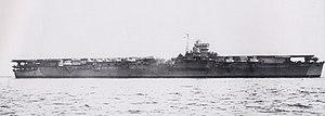 Unryū-class aircraft carrier - Image: Japanese aircraft carrier Unryu