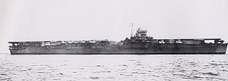 Unryū-class aircraft carrier - Image: Japanese aircraft carrier Unryu