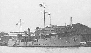 Yongfeng-class coastal defense ship - Asuka at 1942