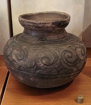 螺旋状の縄文壺、縄文時代後期