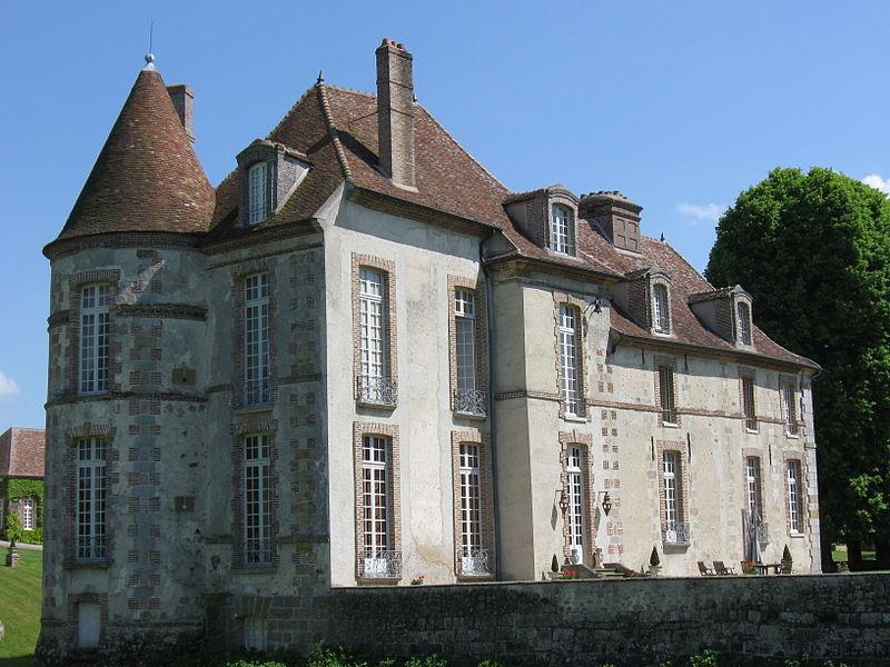 Château de Villeceaux. (commune de Jaulnes, département de la Seine-et-Marne, région Île-de-France).