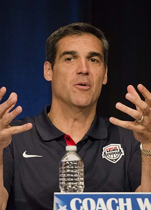 Jay Wright (basketball) - Image: Jay Wright 140507 D HU462 384 (cropped)