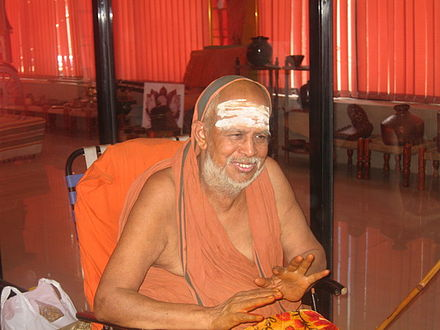 His Holiness Shri. Jayendra Sarawathi [Picture Courtesy: Wiki Pedia]