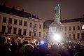 Je suis charlie rally in brussels 7 January 2015.jpg