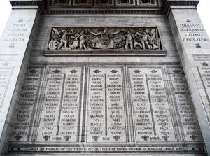 Jean-Antoine Marbot - Image: Jean Antoine Marbot Arc de Triomphe