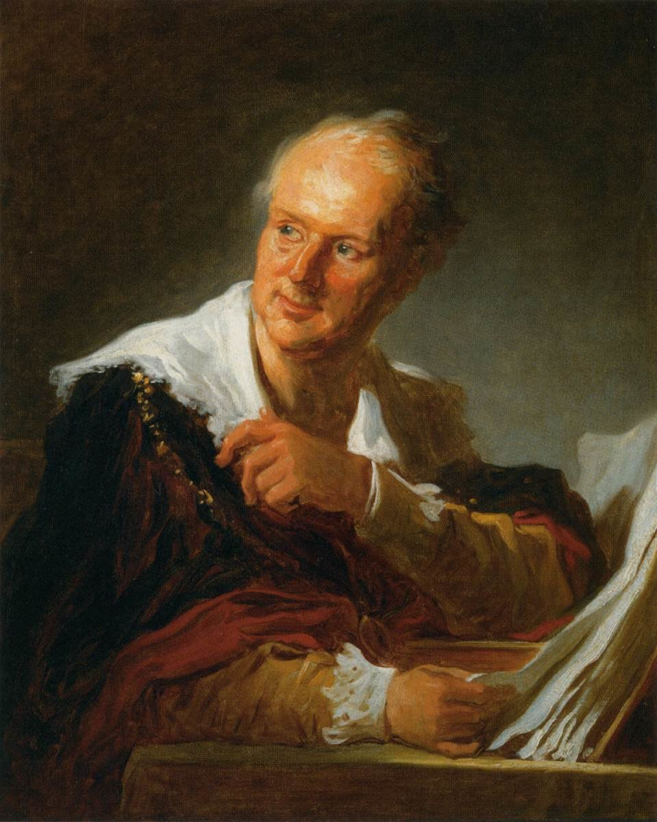 Jean-Honoré Fragonard - Denis Diderot (Fanciful Figure) - WGA8064