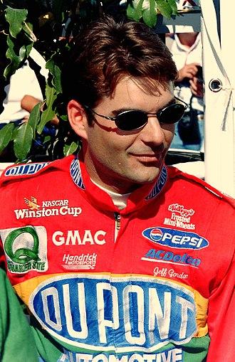1997 NASCAR Winston Cup Series - 1997 Winston Cup champion Jeff Gordon