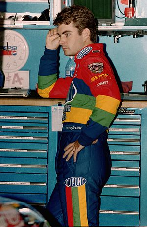 1998 NASCAR Winston Cup Series - The 1998 Winston Cup Champion Jeff Gordon. It was Gordon's third championship in four years.