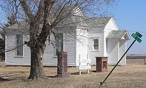 National Register of Historic Places listings in Jefferson County, Nebraska - Image: Jefferson County, Nebraska District 10 School location