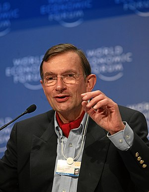 Jeroen van der Veer - Jeroen van der Veer at the World Economic Forum annual meeting in 2009