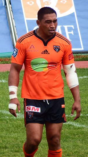 Jerry Collins - Collins featuring for RC Narbonne in 2015