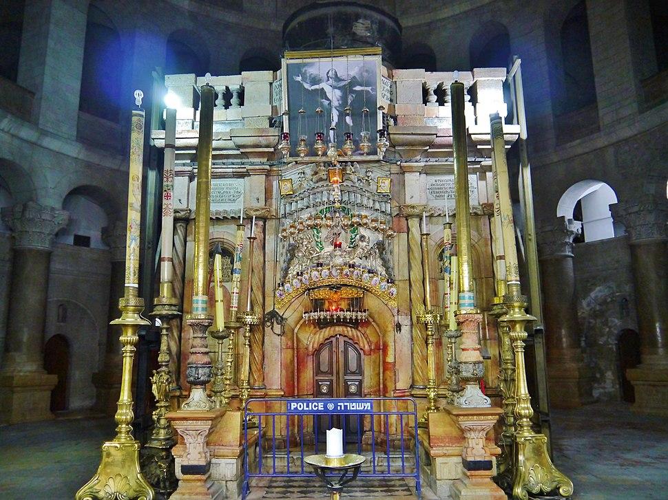 Jerusalem Grabeskirche Innen Grab Jesu 3