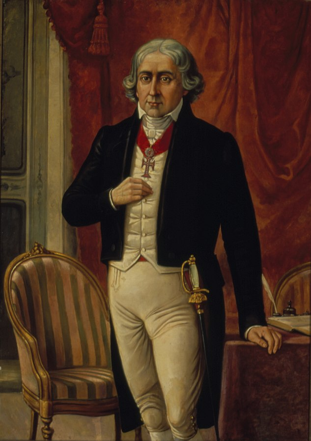 Retrato de José Bonifácio de Andrada e Silva
