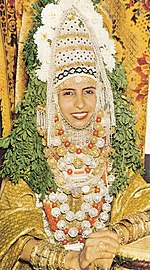 Jewish Yemenite bride
