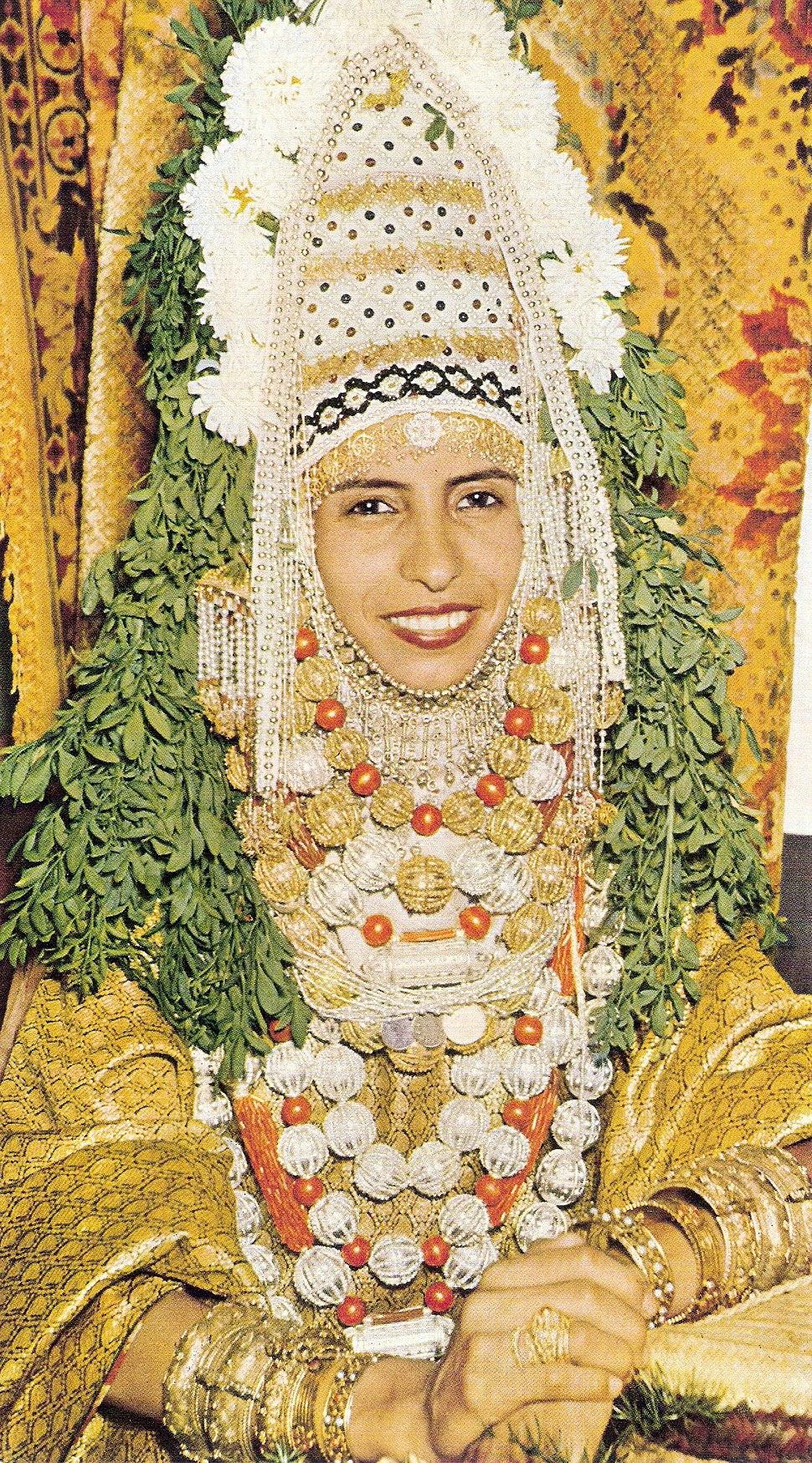 Jewish Yemenite bride