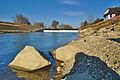 Jez a malá vodní elektrárna u Troubek, Tovačov, okres Přerov.jpg