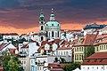 Jezuitský klášter s kostelem svatého Mikuláše a zvonicí Praha, Malá Strana 20170906 001.jpg