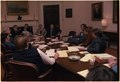Jimmy Carter and White House staff meet with coal mine owners and union leaders. - NARA - 178218.tif
