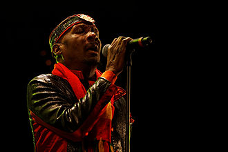 Jimmy Cliff - Cliff performing in 2012