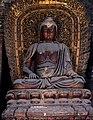 Jin Dynasty statue of Amitabha (阿彌陀佛 or 阿弥陀佛; Āmítuófó), one of the Five Tathagathas (五方佛 Wǔfāngfó) or Five Wisdom Buddhas (五智如来 Wǔzhì Rúlái) at Shanhua Temple (善化寺), Datong, Shanxi, China.jpg