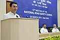 """Jitin Prasada addressing at the """"12th Meeting of the National Road Safety Council (NRSC)"""" organized by the Ministry of Road Transport & Highways, in New Delhi on March 25, 2011.jpg"""