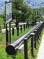 Jizukiyama steel pipe stake.jpg