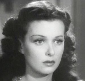 Cropped screenshot of Joan Bennett from the fi...