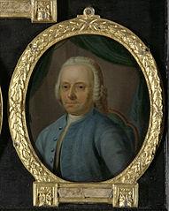 Portrait of Joannes Badon, Poet from Vlaardingen