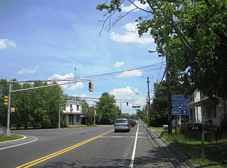 Jobstown, New Jersey Unincorporated community in New Jersey, United States